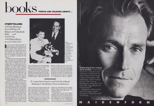 Article Preview: Books: Storytelling, February 1988 | Vogue