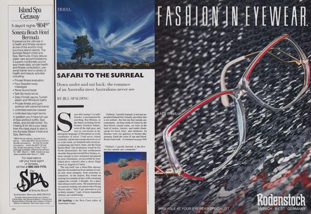 Article Preview: Safari to the Surreal, February 1988 | Vogue