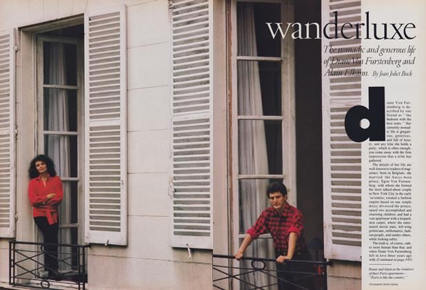 Article Preview: Wanderluxe, February 1988 | Vogue