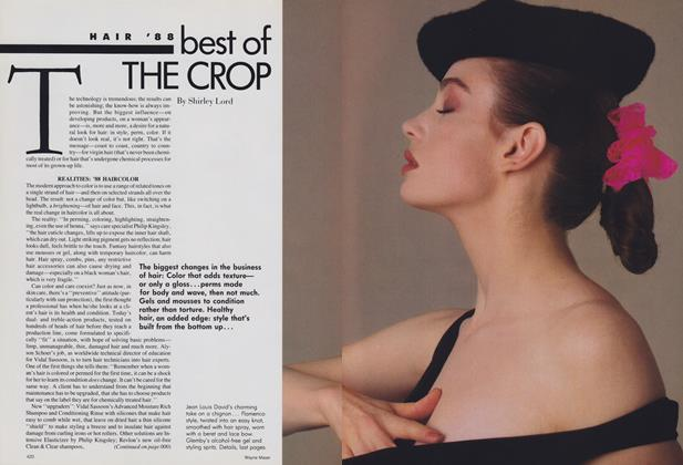 Article Preview: Hair '88: Best of the Crop, February 1988 | Vogue