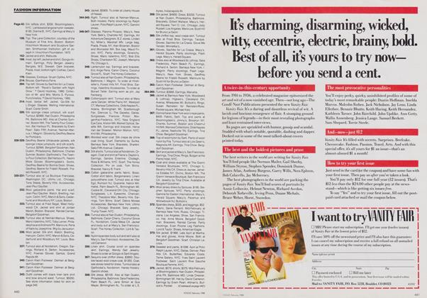 Article Preview: , February 1988   Vogue