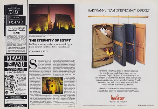 Article Preview: The Eternity of Egypt, March 1988 | Vogue