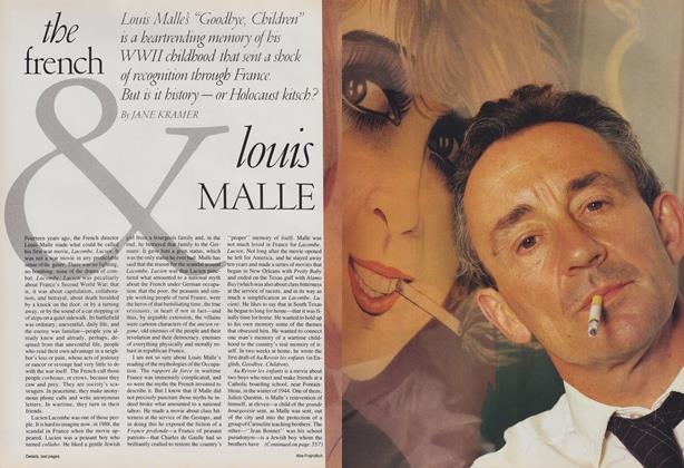 Article Preview: The French & Louis Malle, March 1988 | Vogue