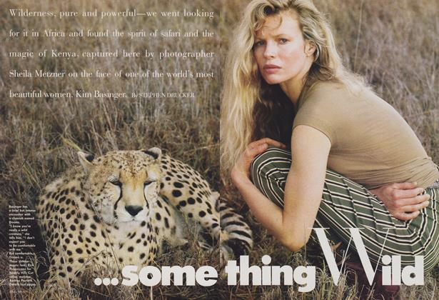 Article Preview: Kim Basinger: Something Wild, April 1988 | Vogue