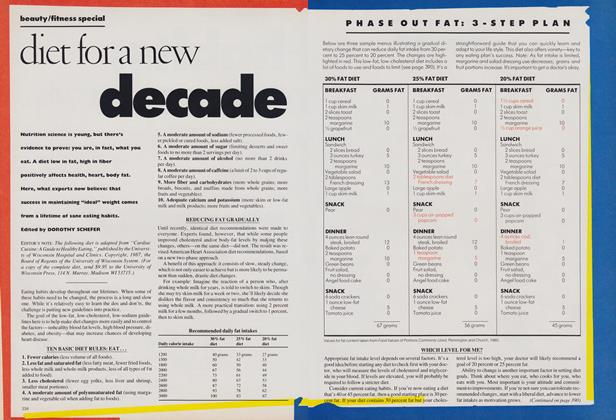 Article Preview: Beauty/Fitness Special: Diet for a New Decade, April 1988 | Vogue