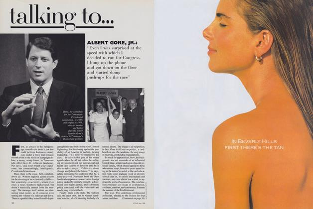 Article Preview: Albert Gore, Jr., May 1988 | Vogue