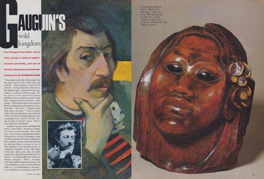Gauguin's Wild Kingdom