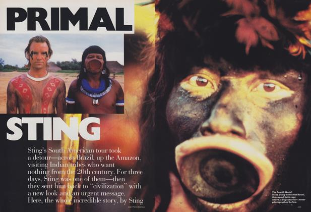 Article Preview: Primal Sting, June 1988 | Vogue