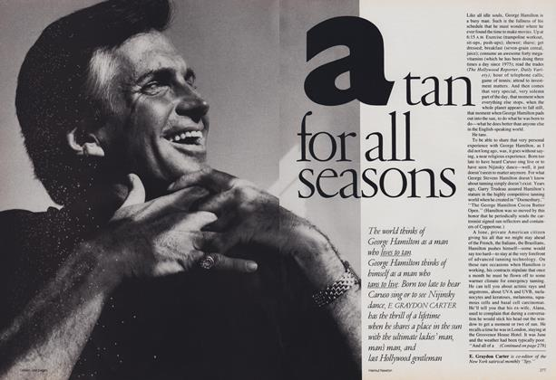 Article Preview: A Few Good Men: A Tan for All Seasons, June 1988 | Vogue