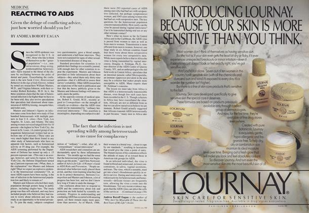 Article Preview: Reacting to AIDS, June 1988 | Vogue