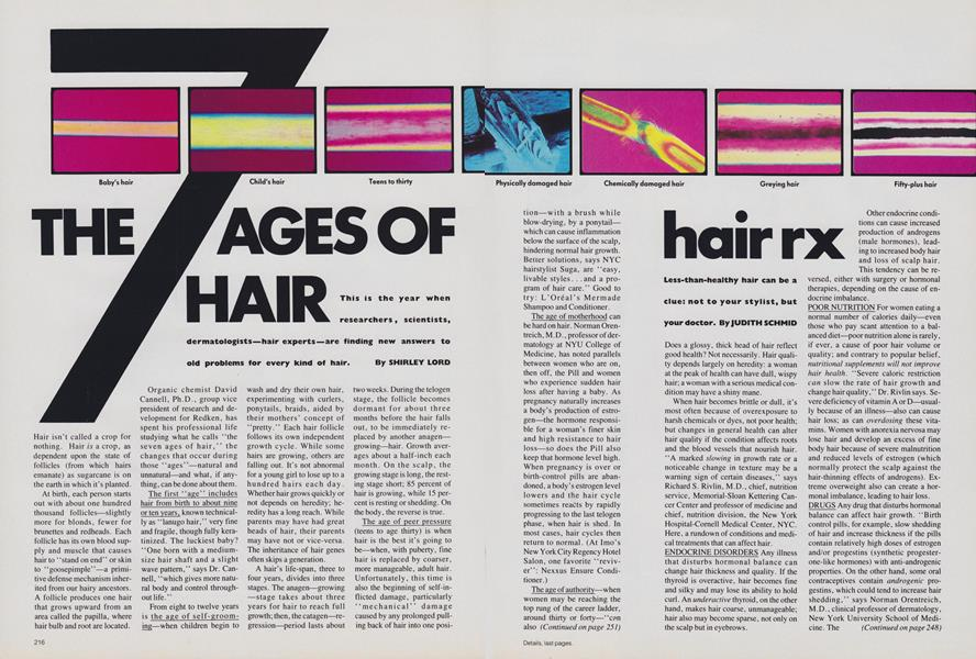 The 7 Ages of Hair
