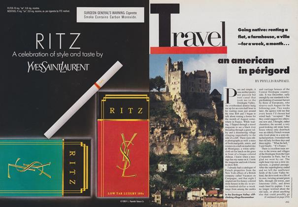 Article Preview: An American in Perigord, August 1988 | Vogue