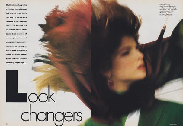 Article Preview: Look Changers, August 1988 | Vogue