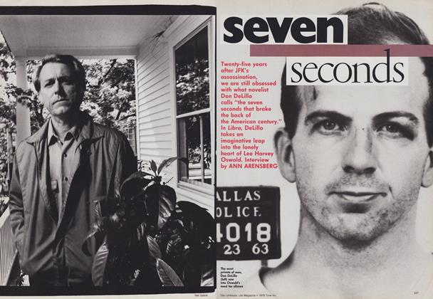 Article Preview: Seven Seconds, August 1988 | Vogue