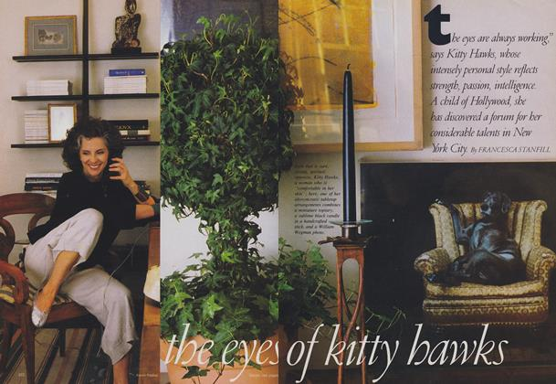 Article Preview: The Eyes of Kitty Hawks, August 1988 | Vogue