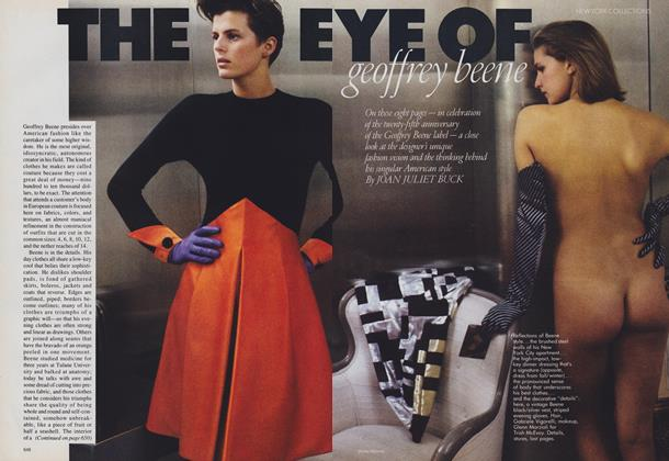 Article Preview: New York Collections: The Eye of Geoffrey Beene, September 1988 | Vogue