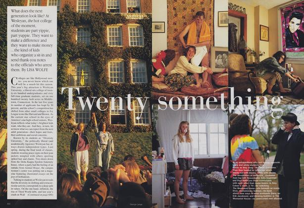 Article Preview: Twenty Something, September 1988 | Vogue