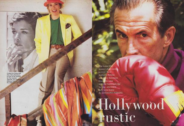 Article Preview: Hollywood Rustic, September 1988 | Vogue