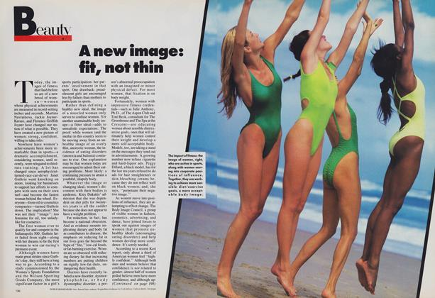 Article Preview: A New Image: Fit, Not Thin, October 1988 | Vogue