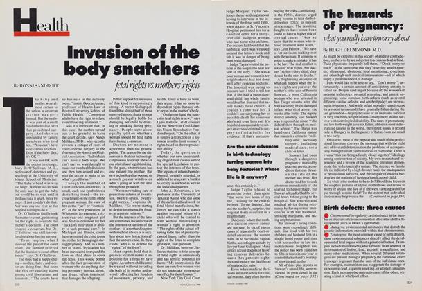 Article Preview: Invasion of the Body Snatchers, October 1988 | Vogue