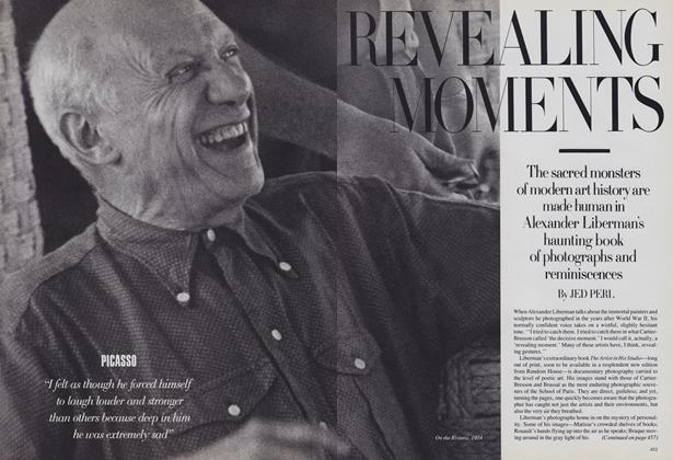 Article Preview: Revealing Moments, October 1988 | Vogue