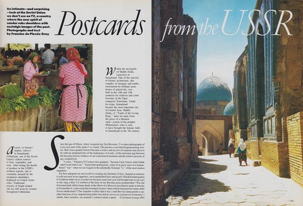 Article Preview: Postcards from the USSR, October 1988 | Vogue