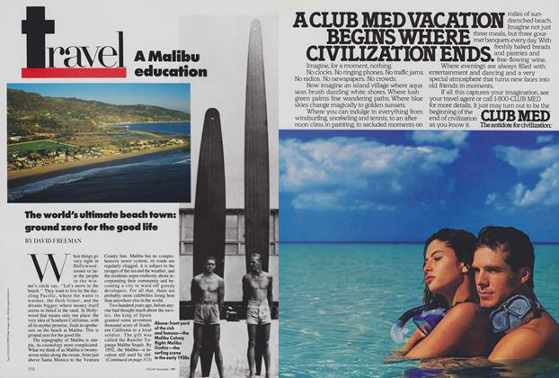 Article Preview: A Malibu Education, November 1988 | Vogue