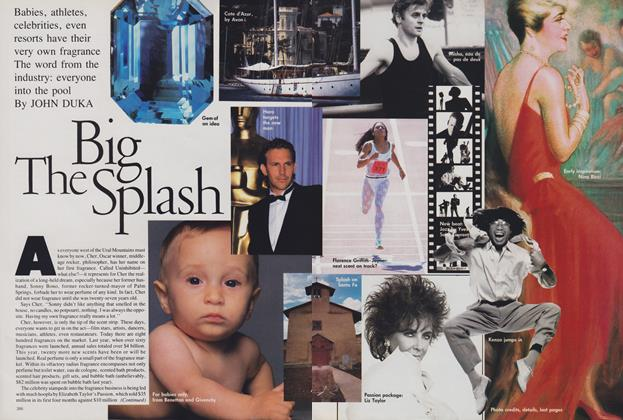 Article Preview: The Big Splash, November 1988 | Vogue