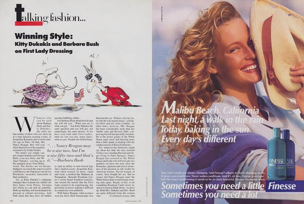 Article Preview: Winning Style, November 1988 | Vogue