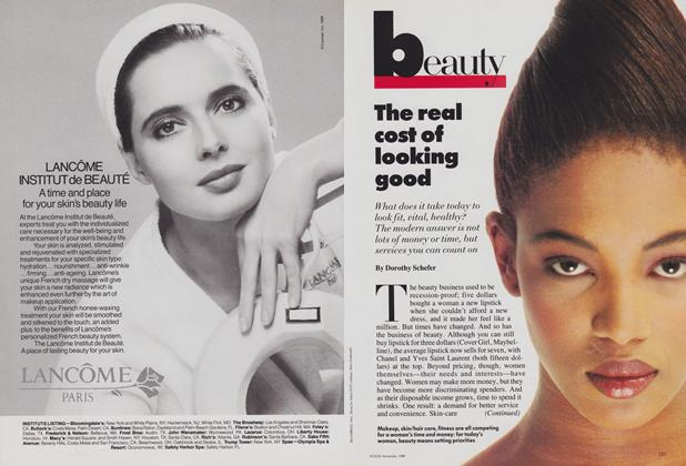 Article Preview: The Real Cost of Looking Good, November 1988 | Vogue