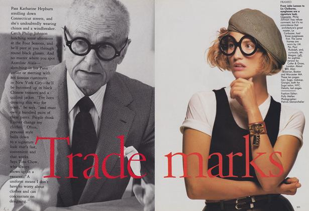 Article Preview: Trade Marks, December 1988 | Vogue