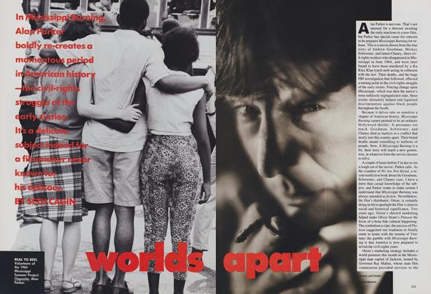 Article Preview: Worlds Apart, December 1988 | Vogue
