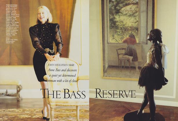 Article Preview: The Bass Reserve, December 1988 | Vogue