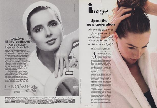 Article Preview: Spas: the New Generation, December 1988 | Vogue