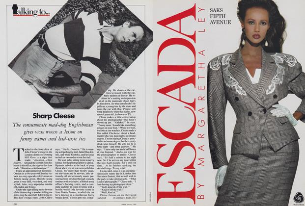 Article Preview: Sharp Cleese, January 1989 | Vogue