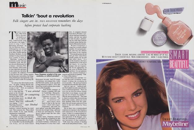 Article Preview: Talkin' 'bout a Revolution, January 1989 | Vogue