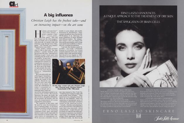 Article Preview: A Big Influence, January 1989 | Vogue
