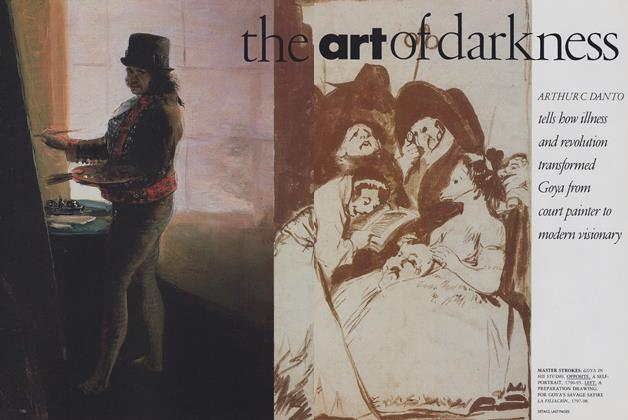 Article Preview: The Art of Darkness, January 1989 | Vogue