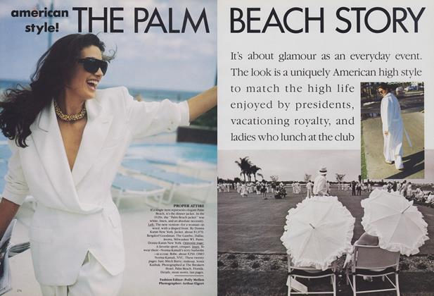 Article Preview: American Style! The Palm Beach Story, February 1989 | Vogue