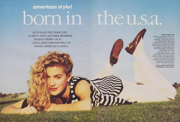 Article Preview: American Style! Born in the U.S.A., February 1989 | Vogue