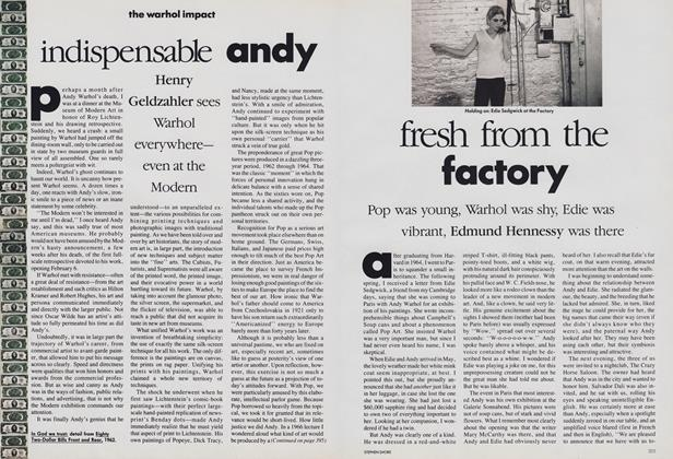 Article Preview: The Warhol Impact: Fresh from the Factory, February 1989 | Vogue