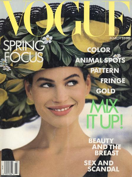 Issue: - March 1989 | Vogue