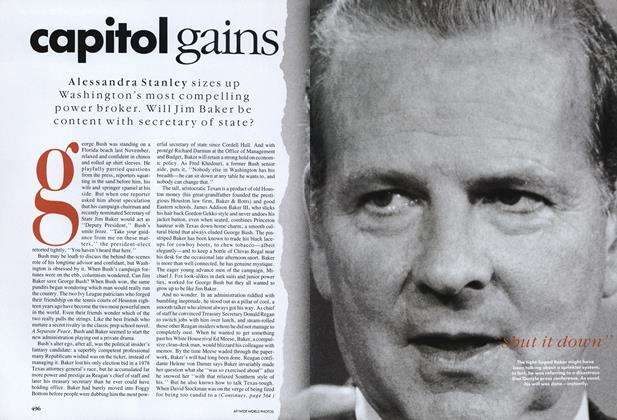 Article Preview: Capitol Gains, March 1989 | Vogue