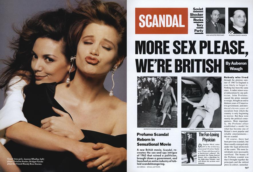 More Sex Please, We're British