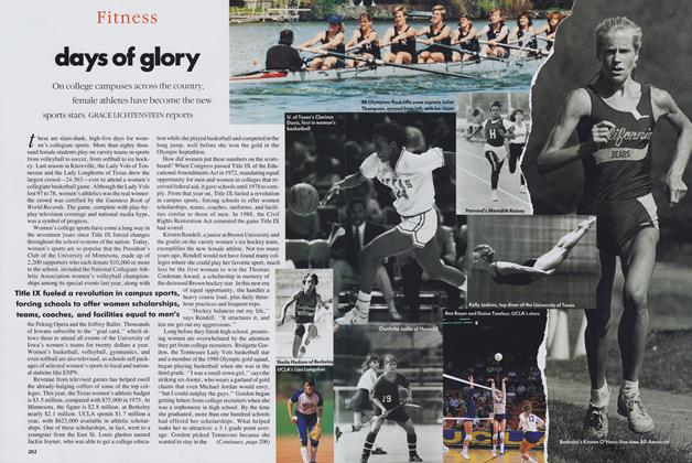 Article Preview: Days of Glory, April 1989 | Vogue