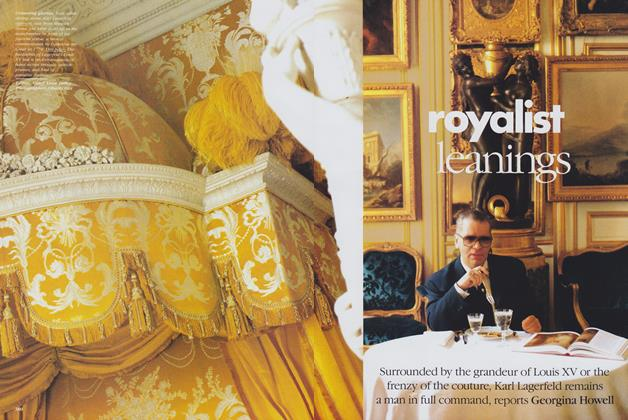 Article Preview: Royalist Leanings, April 1989 | Vogue