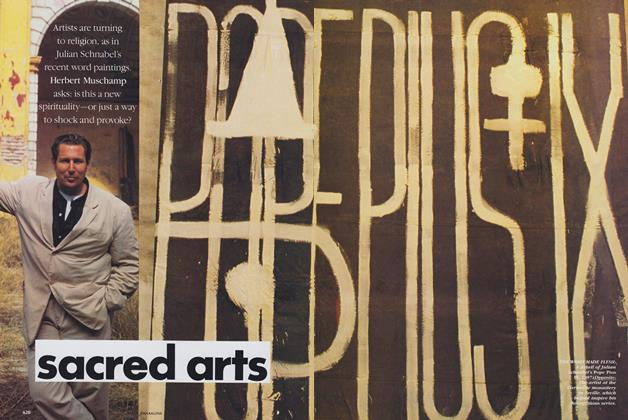 Article Preview: Sacred Arts, April 1989 | Vogue