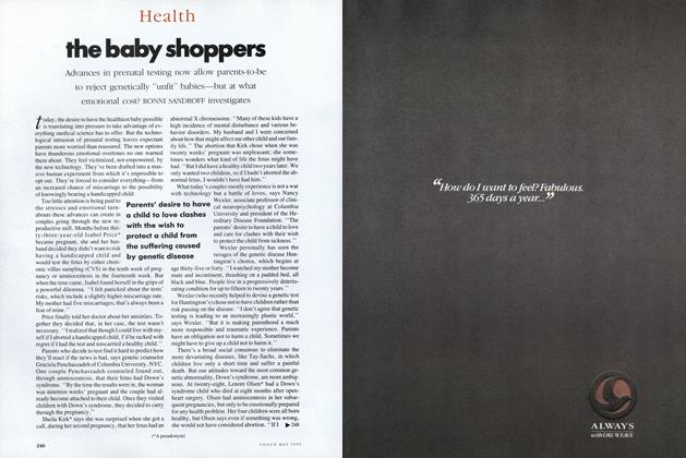 Article Preview: The Baby Shoppers, May 1989 | Vogue