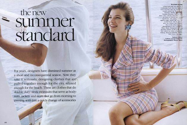 Article Preview: The New Summer Standard, May 1989 | Vogue
