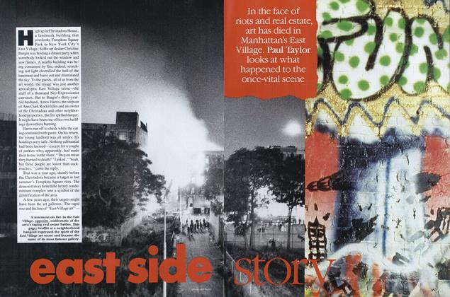 Article Preview: East Side Story, May 1989 | Vogue